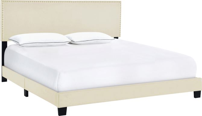 Kernite Beige King Bed