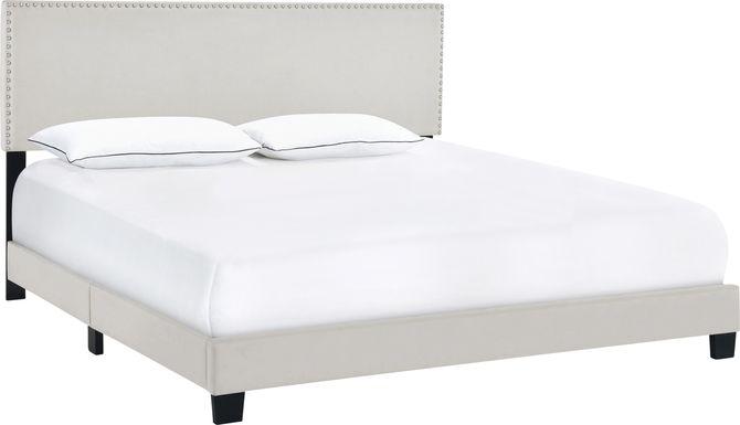 Kernite Light Gray Queen Bed