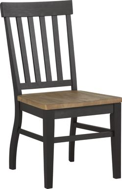 Keston Black Side Chair