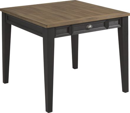 Keston Black Square Dining Table