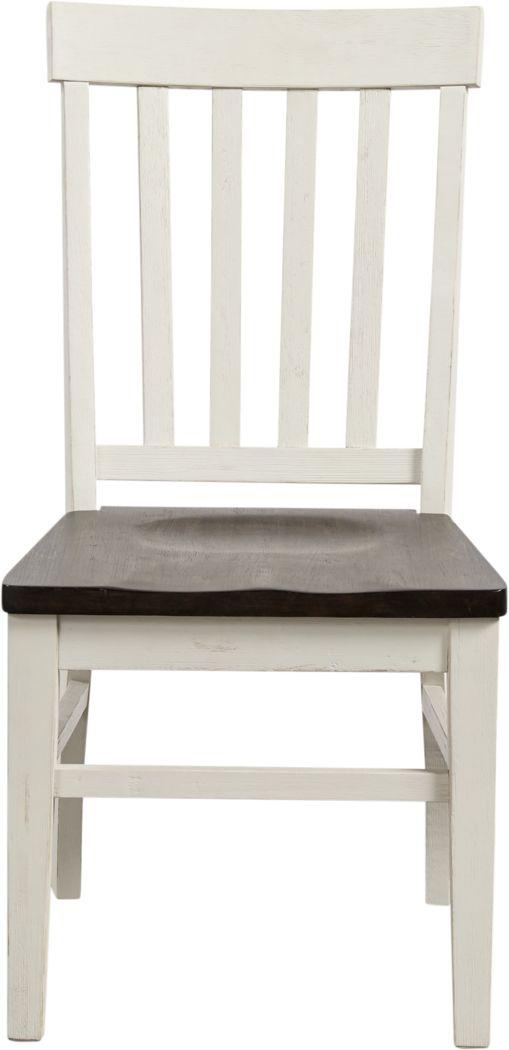 Keston White Side Chair