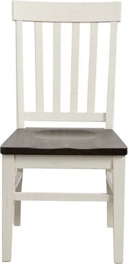 Keston White Side Chair