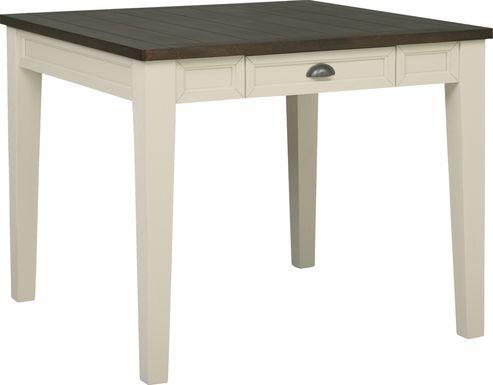 Keston White Square Dining Table