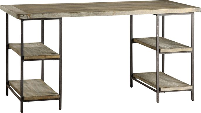Kestrel Gray Desk