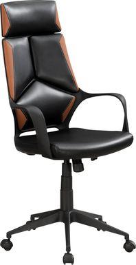 Ketchwood Brown Desk Chair