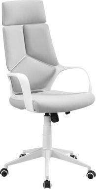 Ketchwood White Desk Chair