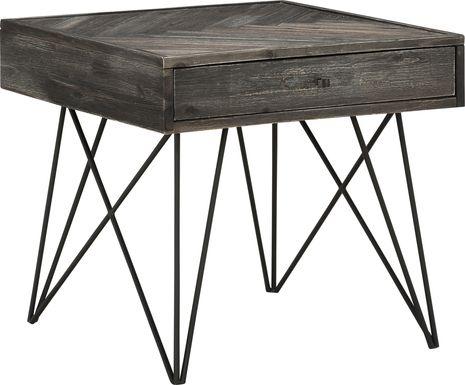 Kewen Gray End Table