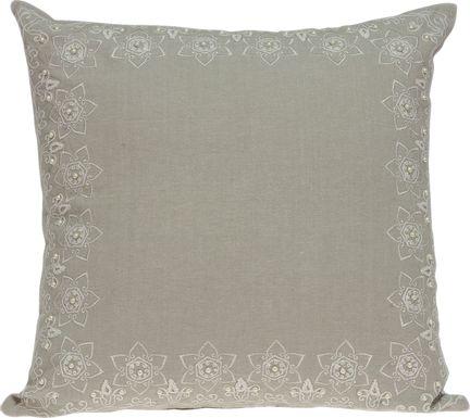 Keyon Beige Accent Pillow