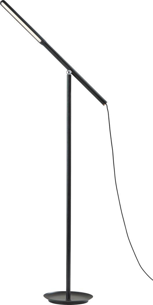 Keystone Court Black  Floor Lamp