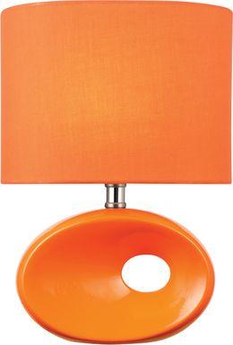 Kid Zabelle Orange Lamp