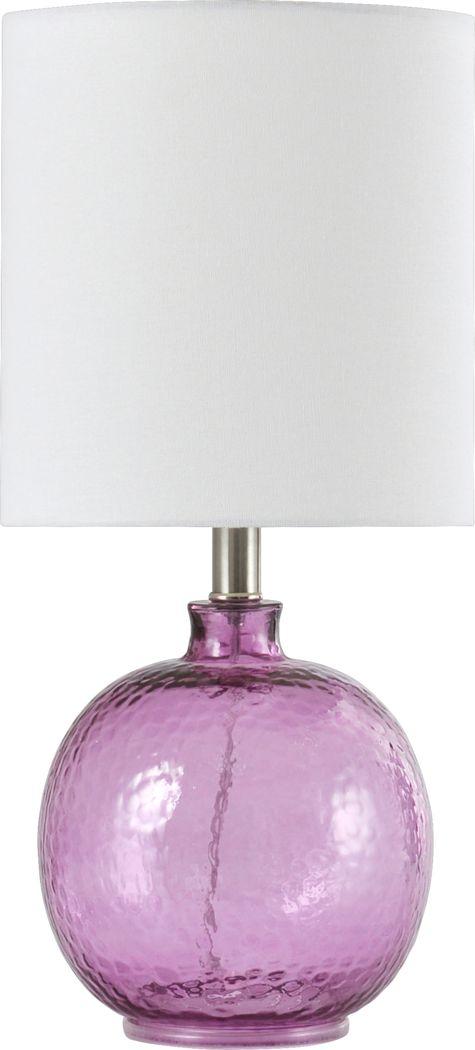 Kids Alta Purple Lamp