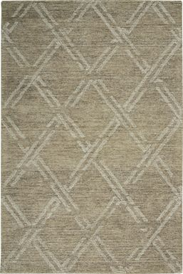 Kids Apollon Taupe 8' x 10' Rug