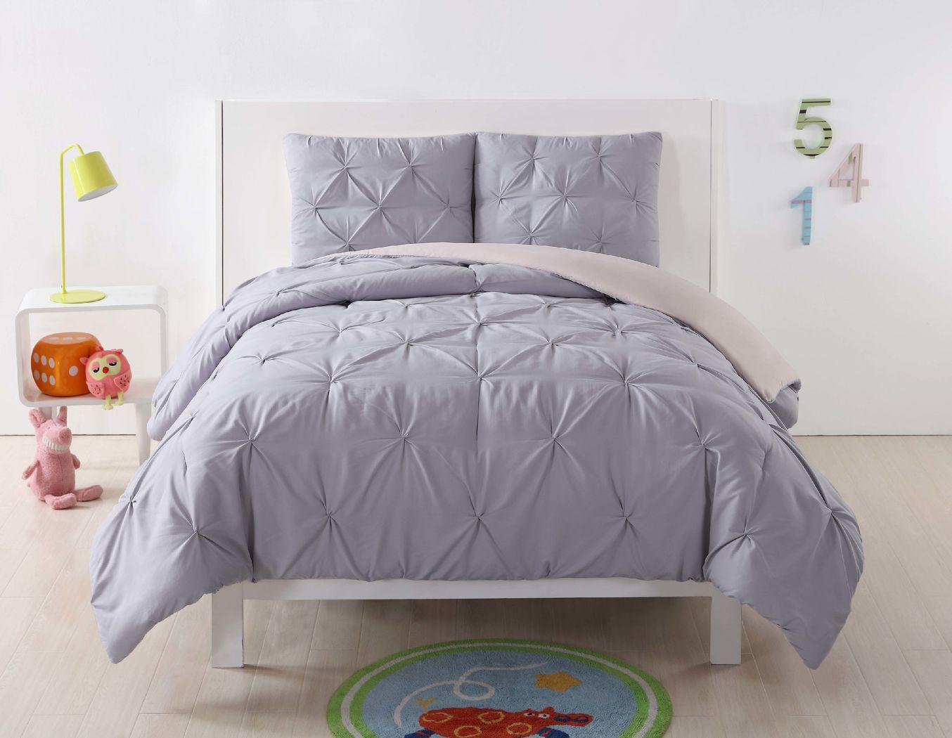Kids Arrisa Lavender 2 Pc Twin XL Comforter Set