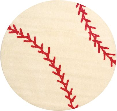 Kids Baseball Rug
