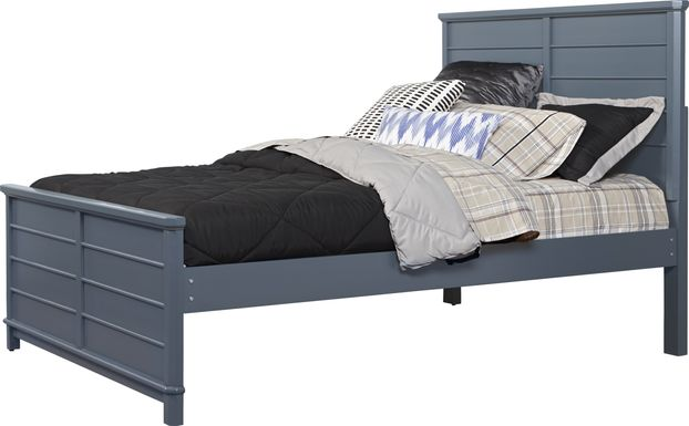 Kids Bay Street Blue 3 Pc Full Panel Bed