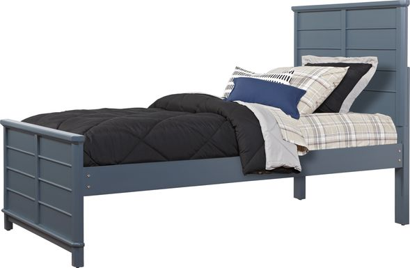 Kids Bay Street Blue 3 Pc Twin Panel Bed