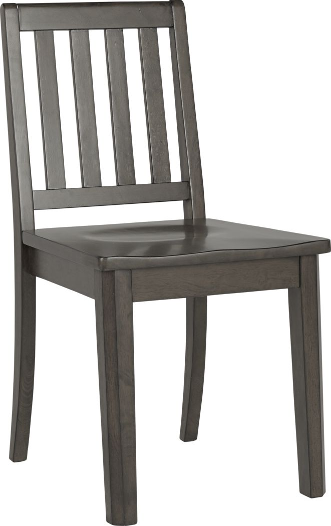 Kids Bay Street Charcoal Desk Chair