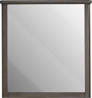 Kids Bay Street Charcoal Mirror