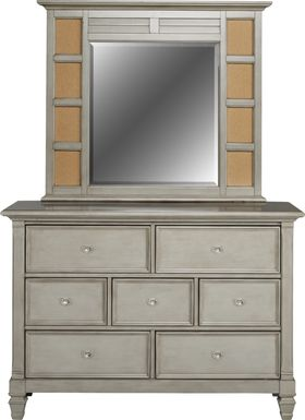 Kids Belmar Gray Dresser & Mirror Set