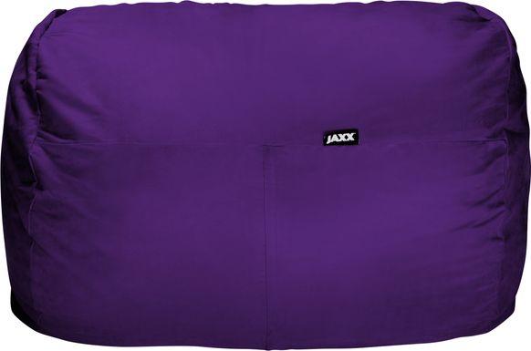 Kids Bexley Purple Bean Bag Chair