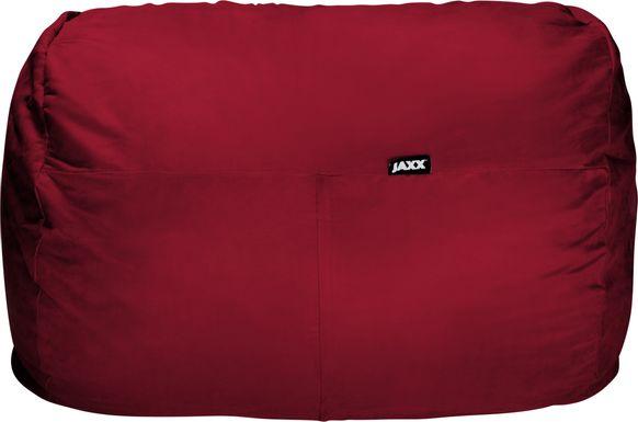 Kids Bexley Red Bean Bag Chair