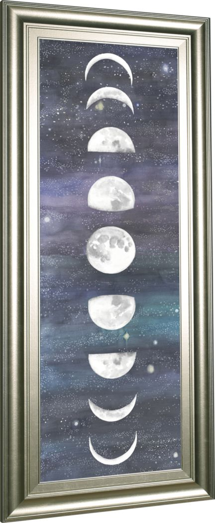 Kids Beyond The Moon Blue Artwork