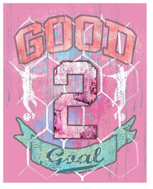 Kids Big Goals Pink Artwork