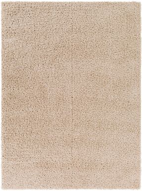 Kids Blissful Pastel Beige 8' x 10' Rug