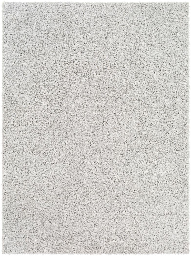 Kids Blissful Pastel Light Gray 8' x 10' Rug
