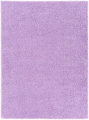 Kids Blissful Pastel Lilac 8' x 10' Rug