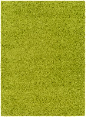 Kids Blissful Pastel Lime 7' x 9' Rug