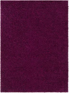 Kids Blissful Pastel Purple 5' x 7' Rug