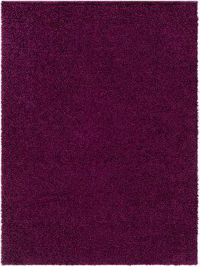 Kids Blissful Pastel Purple 7' x 9' Rug