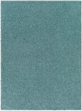 Kids Blissful Pastel Sage 7' x 9' Rug