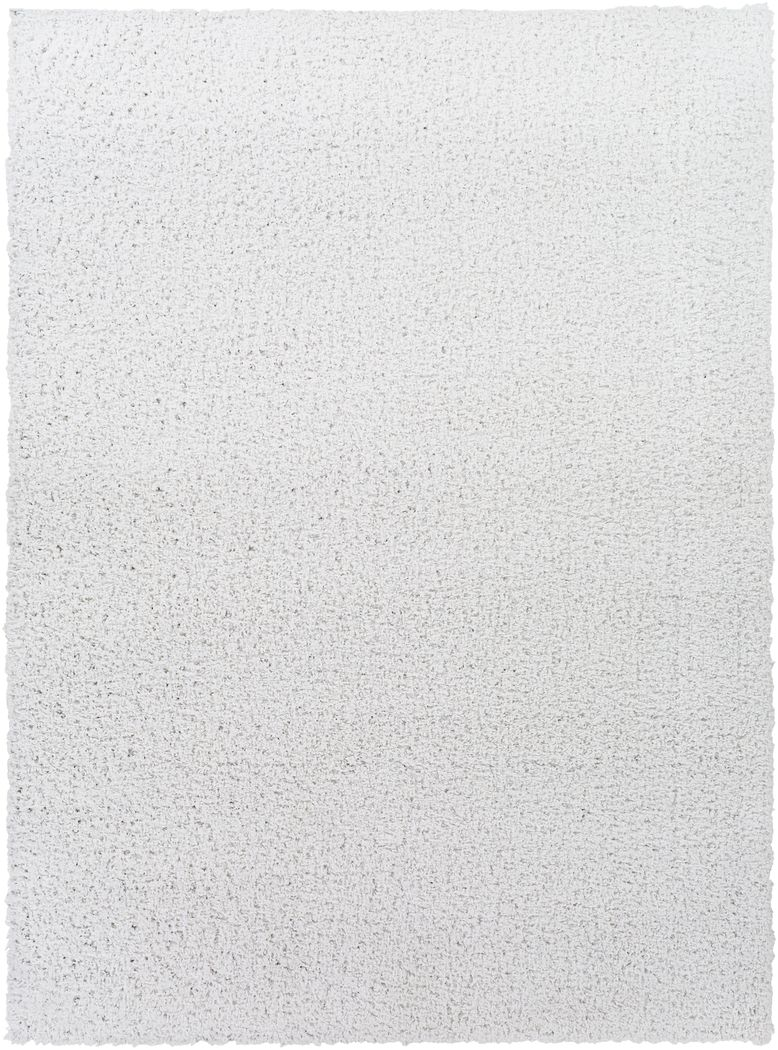 Kids Blissful Pastel White 5' x 7' Rug