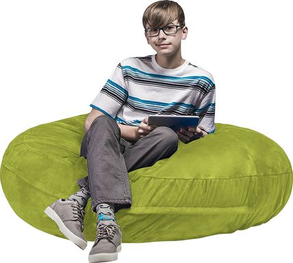 Kids Calix Green Bean Bag Chair
