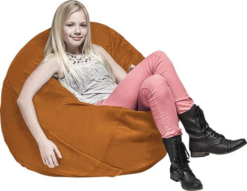 Kids Calix Orange Bean Bag Chair