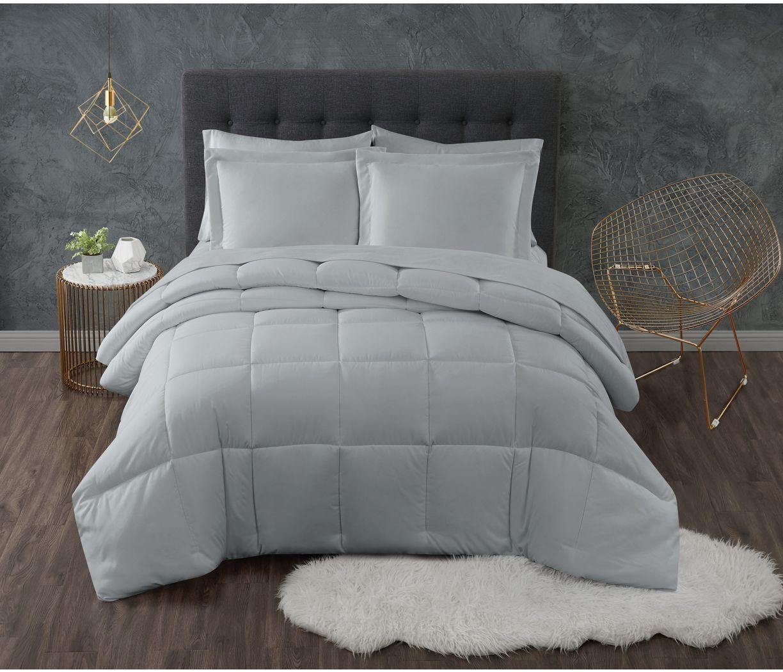 Kids Calming Colors Gray 2 Pc Twin XL Comforter Set
