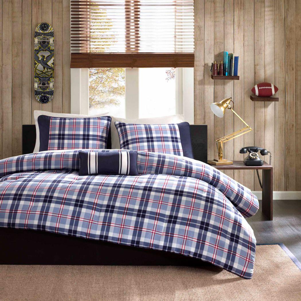 Kids Camillion Blue 3 Pc Twin XL Comforter Set