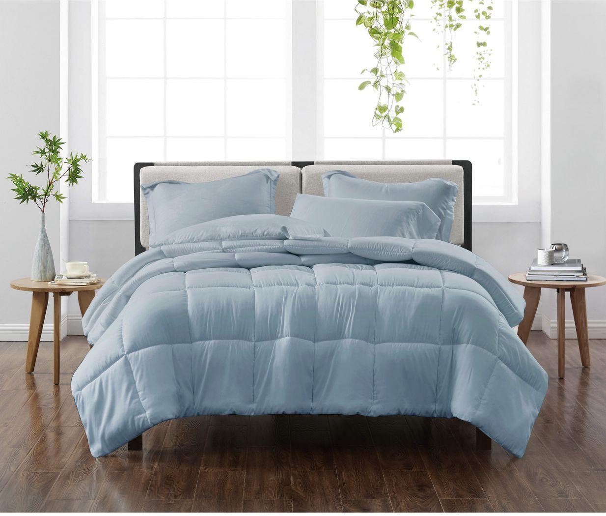 Kids Candy Colors Blue 2 Pc Twin Comforter Set