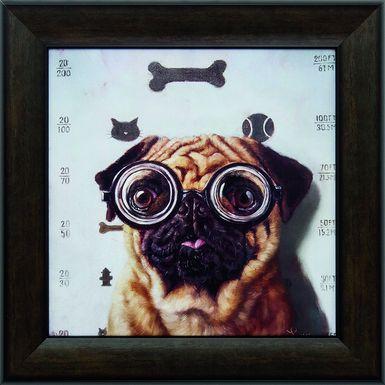 Kids Canine Eye Exam Artwork