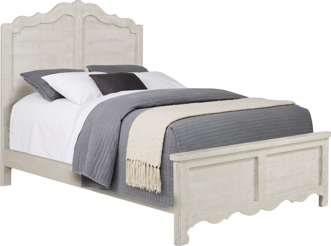 Kids Caraway Cove Gray 3 Pc Full Panel Bed
