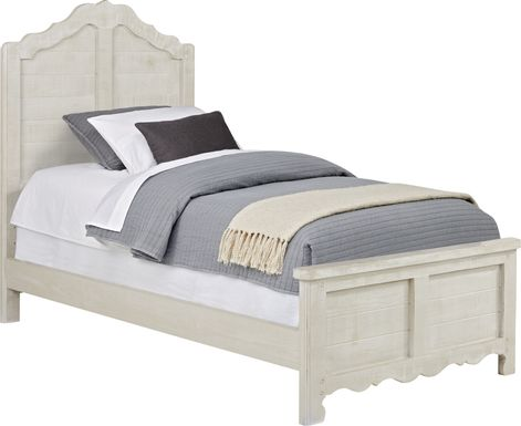 Kids Caraway Cove Gray 3 Pc Twin Panel Bed