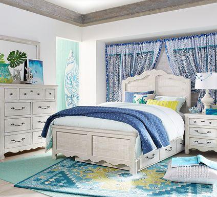 Kids Caraway Cove Gray 5 Pc Full Panel Bedroom
