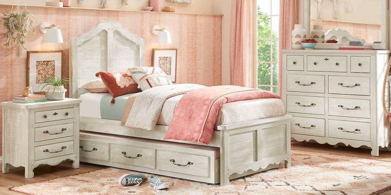 Kids Caraway Cove Gray 5 Pc Twin Panel Bedroom