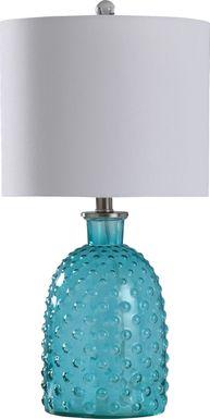 Kids Cayce Blue Lamp