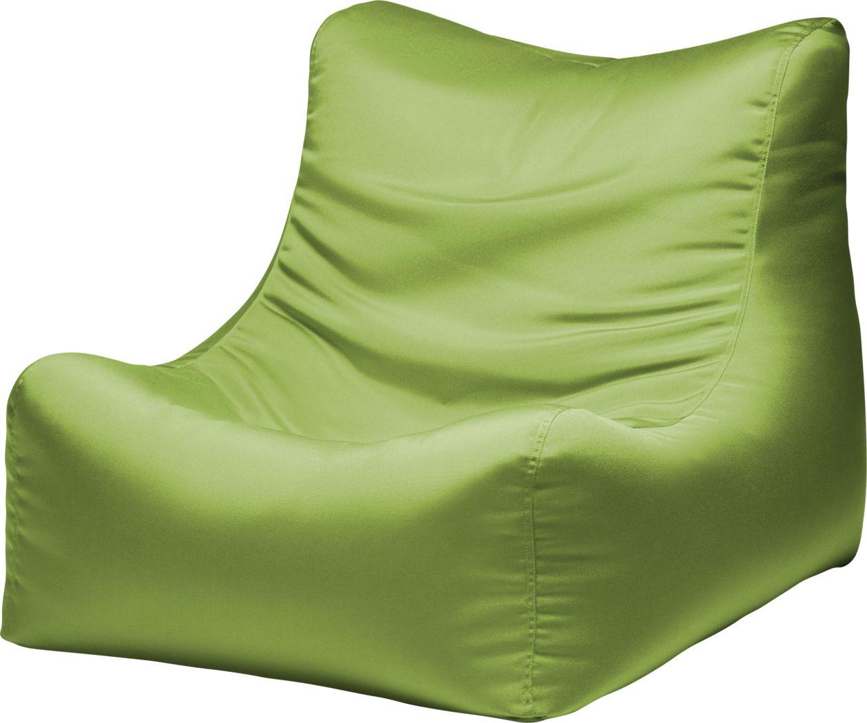 Kids Chatty Garden Green Indoor/Outdoor Bean Bag Chair