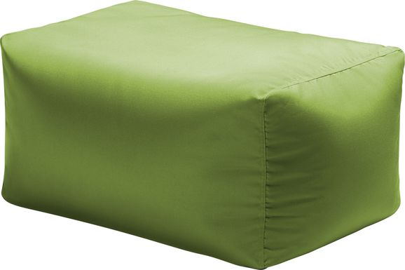 Kids Chatty Garden Green Indoor/Outdoor Ottoman