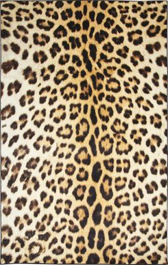 Kids Chic Cheetah Tan 5' x 8' Rug