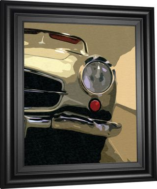 Kids Classic Benz Beige Artwork